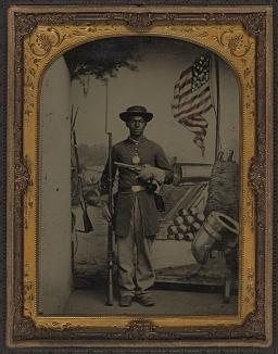 Benton Barrack Soldier