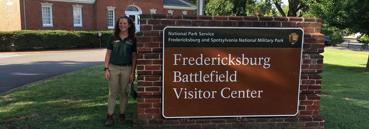 Jane Winthrop at Fredericksburg.